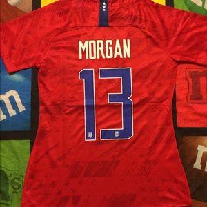 Morgan USA away women's jersey size s-xl